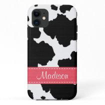 Cow Hide Spots iPhone 11 Case