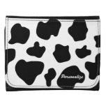 Cow hide spots pattern wallet | Funny animal print