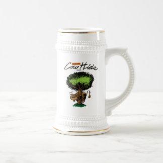 Cow Hide Stein 18 Oz Beer Stein