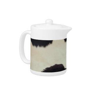 Cow Hide Teapot