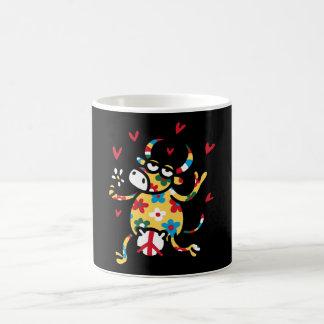Cow Hippie Coffee Mug