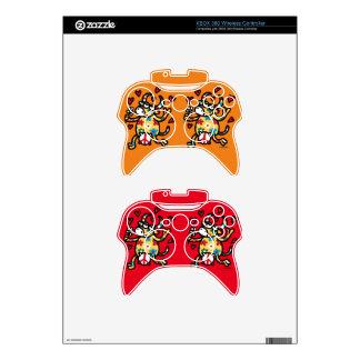 Cow Hippie Xbox 360 Controller Skin