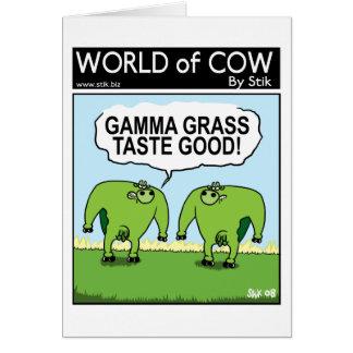 Cow-Hulk Card