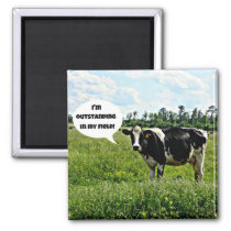 Cow Humor Magnet
