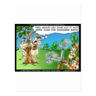 Cow Hunting Season Funny Tees Mugs Cards & Gifts