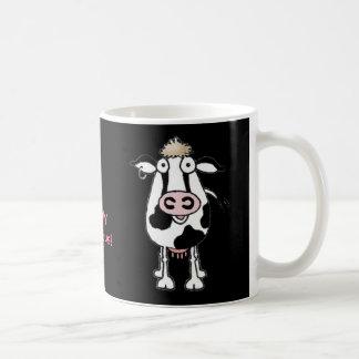 """COW """"I am udderly moovelous!"""" Coffee Mug"""