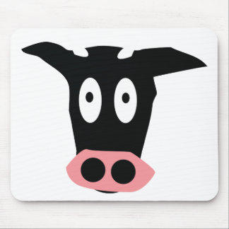 cow icon mouse pad