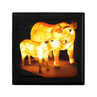 Cow Image Fash Keepsake Box