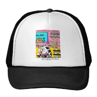 Cow In China Shop Funny Mugs Tees Cards & Gifts Trucker Hat
