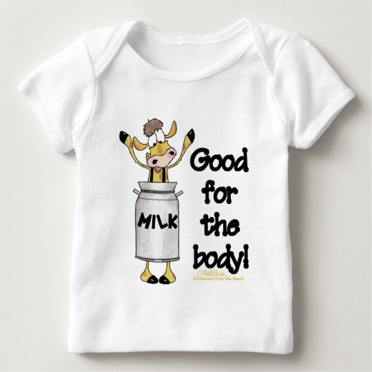 Cow in Milk Can Baby T-Shirt