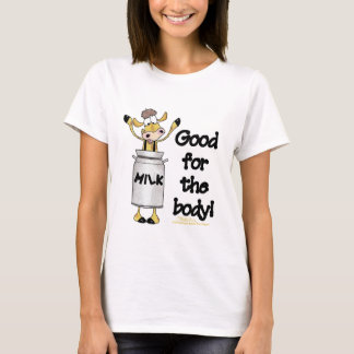 Cow in Milk Can T-Shirt