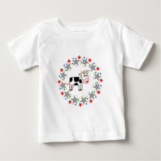 Cow in Stars T-shirt