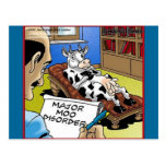 Cow In Therapy 4 Mooo Disorder Gifts Tees Cards Post Cards