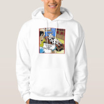Cow In Therapy W/ Moooo Disorder Funny Hoodie by R