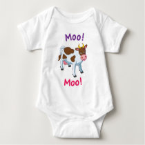 cow infant creeper
