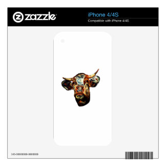 Cow iPhone 4 Decal