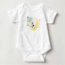 Cow Jumped Over Moon Baby Bodysuit