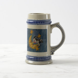 Cow jumped over the Moon 18 Oz Beer Stein