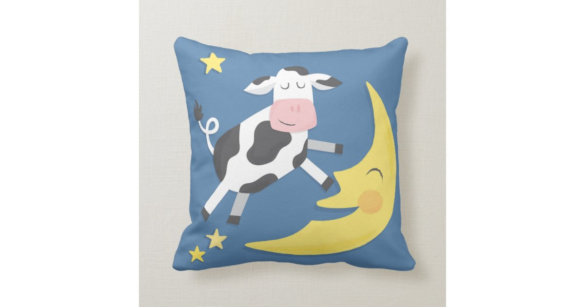 Cow Jumped Over the Moon Children's Pillow