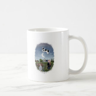 COW JUMPED OVER THE MOON COFFEE MUG