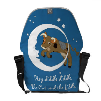 Cow Jumped Over the Moon Courier Bag