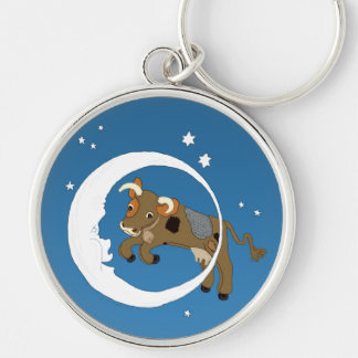 Cow Jumped Over the Moon Key Chains