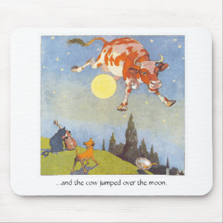 Cow Jumped Over the Moon, Mousepad