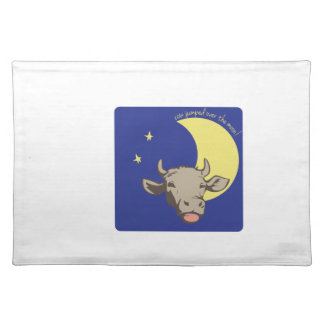 Cow Jumped Over the Moon! Placemat
