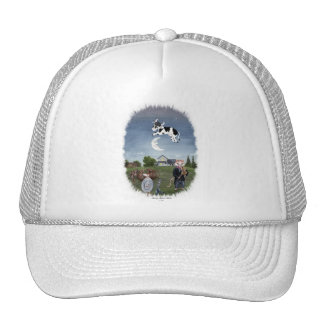COW JUMPED OVER THE MOON TRUCKER HAT
