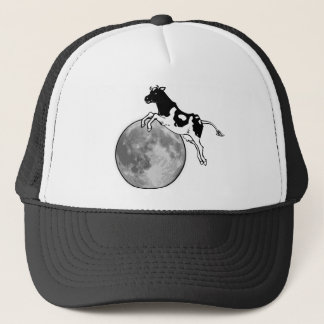 Cow Jumping over the Moon Trucker Hat
