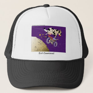 Cow Jumps Moon Funny Gifts & Collectibles Trucker Hat
