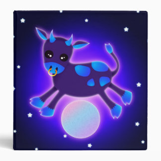 """Cow Jumps Over the Moon 1.5"""" 3 Ring Binder"""