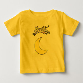 Cow Jumps Over the Moon Baby T-Shirt