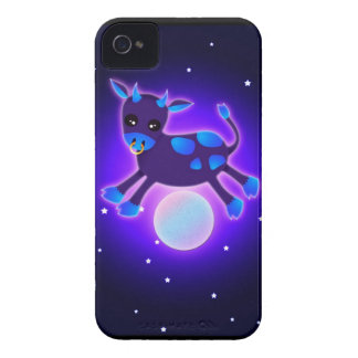 Cow Jumps Over the Moon iPhone 4 Cover