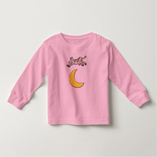 Cow Jumps Over the Moon Toddler T-shirt