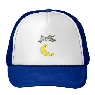 Cow Jumps Over the Moon Trucker Hat