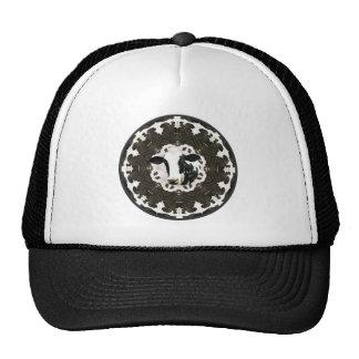 Cow kaleidoscope trucker hat