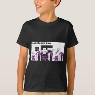 Cow Knock Knock Joke T-Shirt