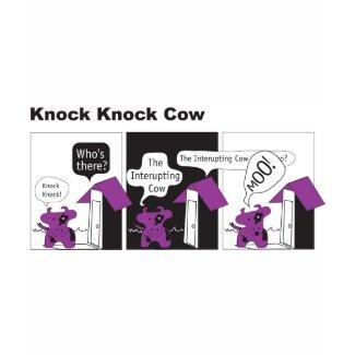 Cow Knock Knock Joke shirt