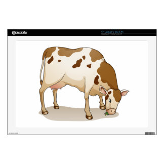 cow laptop decal