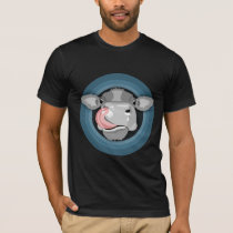 Cow licking nose T-Shirt