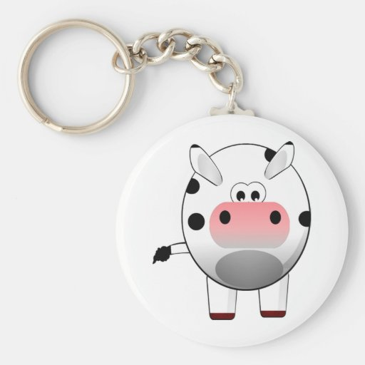 Cow Life is just one steak away Key Chain