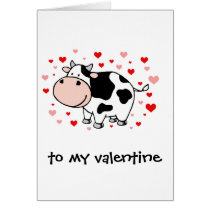 Cow Love Card