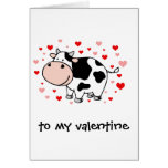 Cow Love Greeting Card