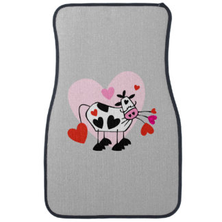 Cow Lover Car Mat