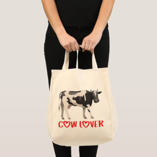 Cow Lover Cows Farm Farmer Country Life Heifer Tote Bag