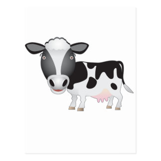 Cow Lover Postcard