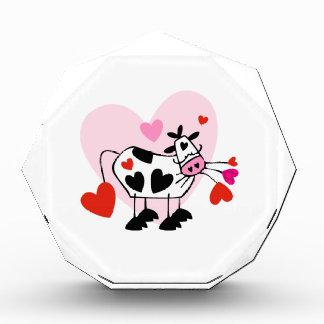Cow Lovers Acrylic Award