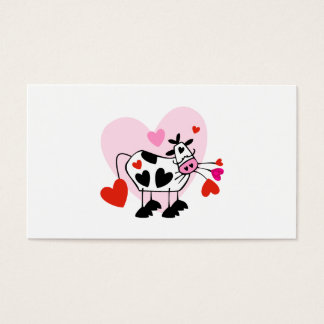 Cow Lovers Business Card