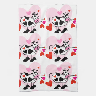 Cow Lovers Hand Towels